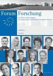 Leseverstehen - Pädagogische Hochschule - Schwäbisch Gmünd