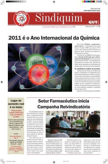 Download Jornal Sindiquim - Sindicato dos Químicos do ABC