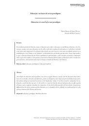 Educação: em busca de novos paradigmas - UniFOA