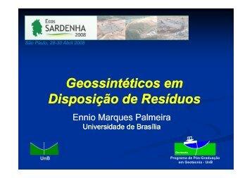 Geossintéticos em Disposição de Resíduos