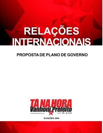 Relações Internacionais - WordPress – www.wordpress.com