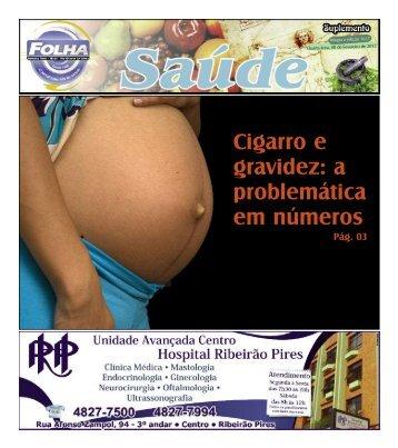 Cigarro e gravidez: a problemática em números - Folha Ribeirão Pires