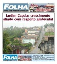 Jardim Caçula - Folha Ribeirão Pires