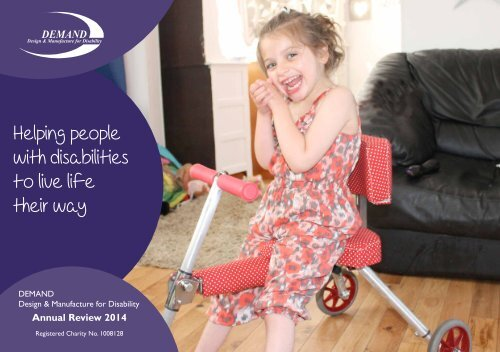 DEMAND review 2014: Helping people with disabilities to live life their way