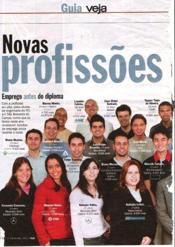 Novas Profissões Revista Veja 22 Junho 2011 - OPEE