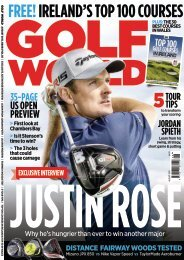 Golf World August Preview