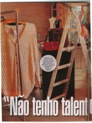 Não tenho talento para socialite Revista Veja 21 Janeiro 2009 - OPEE