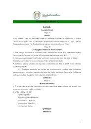 Regulamento - Universidade Fernando Pessoa