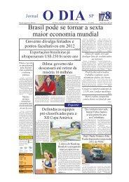Brasil pode se tornar a sexta maior economia mundial