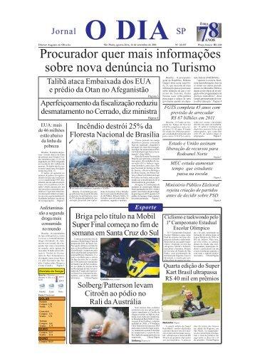 Procurador quer mais informações sobre nova denúncia no Turismo