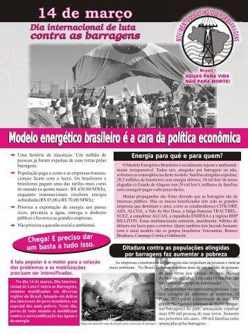Modelo energético brasileiro é a cara da política econômica