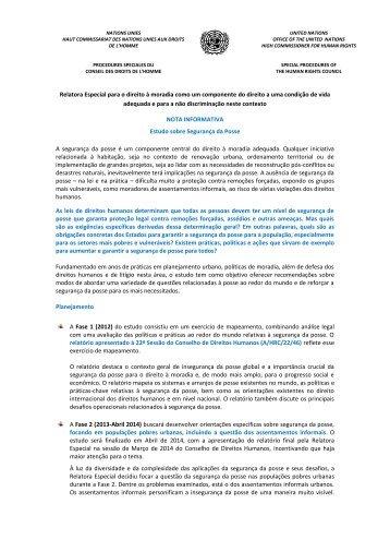 Faça o download do arquivo - Direito à moradia