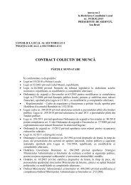 Anexa 2 la HCL nr. 39 / 2013 - Primăria Sectorului 1