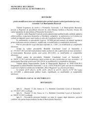 Hotărârea Consiliului Local nr. 68 / 2013 - Primăria Sectorului 1
