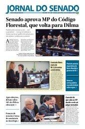 Senado aprova MP do Código Florestal, que volta ... - Senado Federal