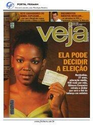 Além da aborrescência Revista Veja 16 Agosto 2006 - OPEE