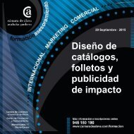 DISENO DE CATALOGOS,FOLLETOS Y PUBLICIDAD DE IMPACTO