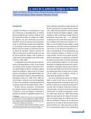 La salud de la población indígena en México - Funsalud