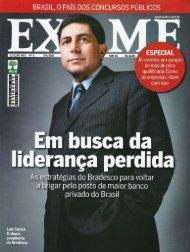 A corrida da qualificação Revista Exame 7 Abril 2010 - OPEE