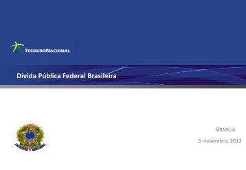 Dívida Pública Federal Brasileira - Tesouro Nacional