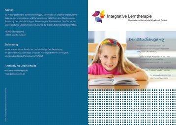 Der Studiengang - Pädagogische Hochschule - Schwäbisch Gmünd