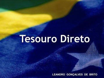 LEANDRO GONÇALVES DE BRITO - Tesouro Nacional