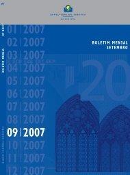 B. Mensal do BCE - Setembro 2007 - Público