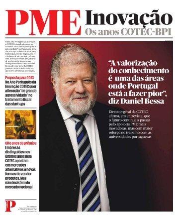 PMEInovação Os anos COTEC-BPI - Público