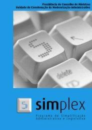 Programa Simplex 2006 PDF - coordenador nacional da estratégia ...