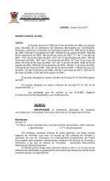 Ordenanza Municipal por Concesiones y Permisos - Municipalidad ...