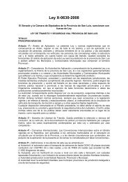 Ley X-0630-2008 - Estrucplan