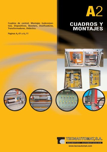 PDF de Cuadros y Montajes - Tecnautomat