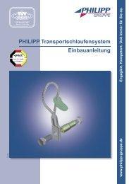 PHILIPP Transportschlaufensystem ... - PHILIPP Gruppe
