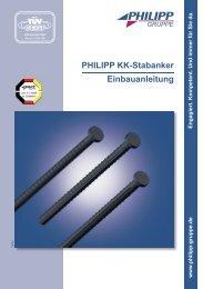 PHILIPP KK-Stabanker Einbauanleitung - PHILIPP Gruppe