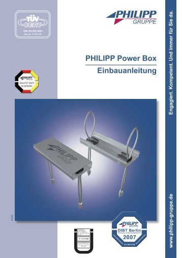Power Box.indd - PHILIPP Gruppe