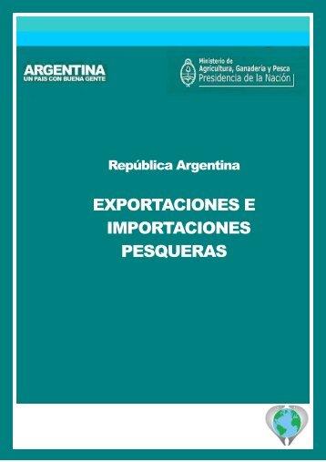 Exportaciones e Importaciones Pesqueras 2012 - Ministerio de ...