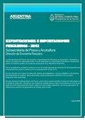 Exportaciones e Importaciones Pesqueras 2012 - Ministerio de ... - Page 2