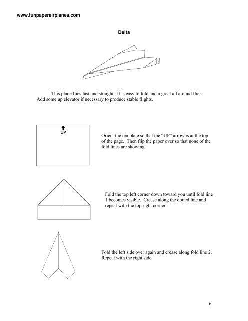 Delta sample.pdf - Fun Paper Airplanes