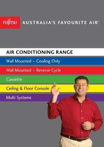 Fujitsu Air Conditioning range - Direct Electrical Solutions