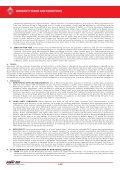 TERMS AND CONDITIONS TERMINI E CONDIZIONI DI GARANZIA ... - Page 4
