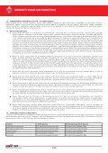 TERMS AND CONDITIONS TERMINI E CONDIZIONI DI GARANZIA ... - Page 6