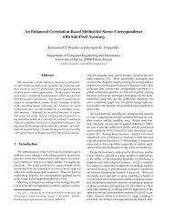 An Enhanced Correlation-Based Method for Stereo ...