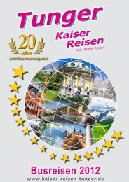 4 Tage - Kaiser Reisen
