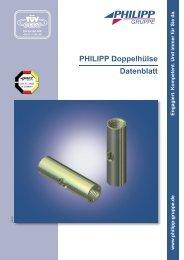 PHILIPP Doppelhülse Datenblatt - PHILIPP Gruppe
