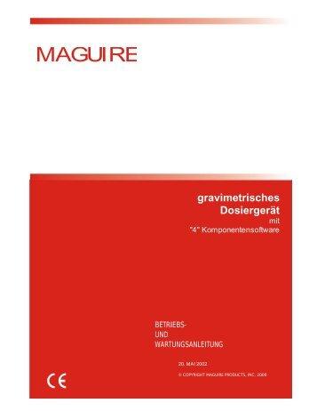 gravimetrisches Dosiergerät - Maguire Products