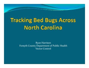 Tracking Bed Bugs Across The State