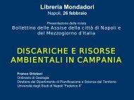 scarica la presentazione della relazione in ... - Assise di Napoli