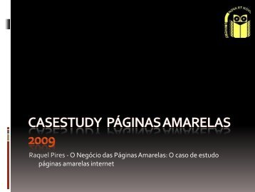 apresentação - Universidade Fernando Pessoa