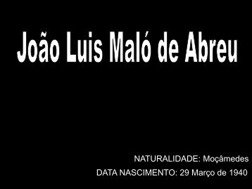 João Luis Maló de Abreu