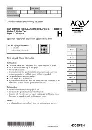 Paper 2 Calculator Module 5 Spec - The Grange School Blogs